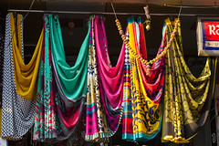 Saree Fabrics, Dharavi (AdamCohn) Tags: india adam mumbai saree slums fabrics cohn sarees dharavi slumdog adamcohn wwwadamcohncom dharavislums