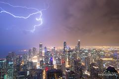 (4.9.15)-Hancock_Storm-WEB-8 (ChiPhotoGuy) Tags: chicago storm skyline stormy lakemichigan observatory thunderstorm lightning hancock thunder cloudporn lightningstrike skyporn chitecture 360chicago