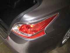 2014 Nissan Altima Tail Light Housing - Changing Brake, Rear Turn Signal & Reverse Light Bulbs (paul79uf) Tags: light lamp turn diy nissan tail rear steps replacement number part howto change bulbs instructions brake guide reverse altima signal tutorial replace 2014 2015 2013