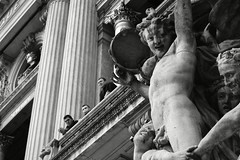 Paris: The Opera House (sdlawsonphoto) Tags: blackandwhite bw paris france architecture opera balcony beatles bro statuary bros parisoperahouse palaisgarnier parisopera charlesgarnier operanationaldeparis angusmcbean beatles19621966 sdlawsonphoto sonyrx100ii