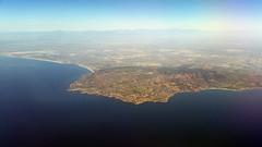 California coastline (D70) Tags: california from usa unitedstates united taken coastline boeing 800 737 ranchopalosverdes
