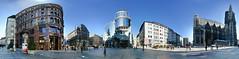 Stephansplatz, Vienna (panoround hutter) Tags: panorama fotograf grafiker grafikdesigner wien austria happy citylife 1010 vienna travel architecture architectura voyage hutterdesign hutter