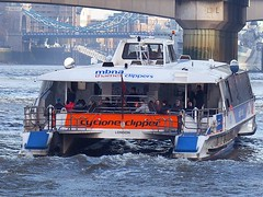 Cyclone Clipper (Kombizz) Tags: uk london ferry vessel passengers riverthames cyclone thamesriver clipper mbna riverbus kombizz cycloneclipper 1080542 mbnathamesclippers