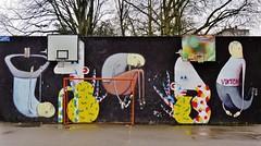 Renil Emil, Bisser / Leuven - 4 apr 2015 (Ferdinand 'Ferre' Feys) Tags: leuven louvain streetart belgium graff graffiti artdelarue graffitiart renilemil bisser urbanart belgique belgië urbanarte arteurbano ferdinandfeys