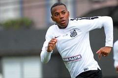 Robinho (Santos Futebol Clube) Tags: ct santos fc rei treino pel