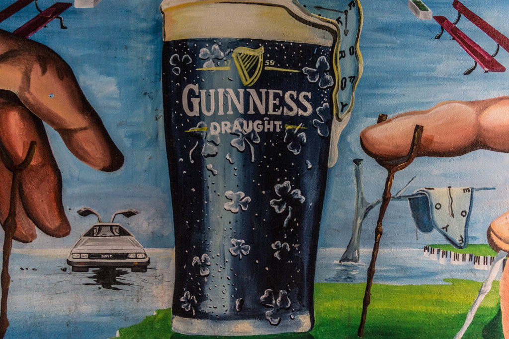 Street Art In Belfast [Guinness] REF-104673