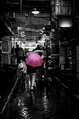 Pink (Cranamanor13) Tags: street pink reflection streetphotography melbourne laneway centreplace andrewwilson