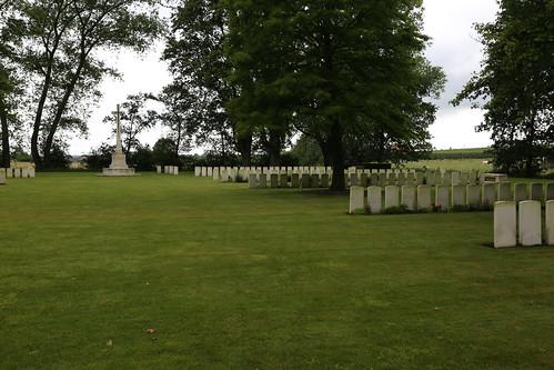 Maple Copse CWGC Cemetery Belgium
