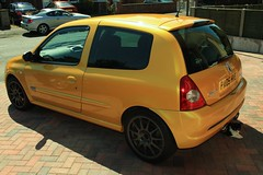 LY Clio 182 19-07-16 002 (AcidicDavey) Tags: liquid yellow clio 182 renaultsport