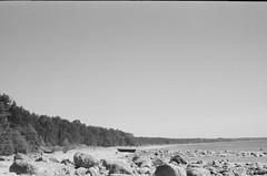 001566650009 (putjka) Tags: kiev4 analog film filmphotography kodak tmax100 bw retro latvia coastline beach