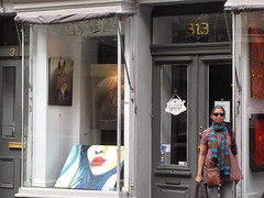 New Orleans-15.02 (davidmagier) Tags: usa sunglasses scarf louisiana neworleans paintings ponytail aruna