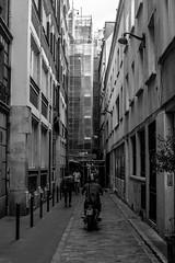 IMG_8593 (Lens a Lot) Tags: paris | 2016 zenit kiev arsenal mc mir24n 35mm 2   24 1976 6 blades iris nikon m42 56 black white street photography motocycle depth field vinatage manual russian urss prime lens