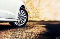 Audi A3 E-tron (Karl.T-Enigma) Tags: lensbaby pro 50mm f28 car audi jantes freelensing bokeh