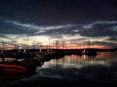 After sunset in Bovallstrand (annarkias) Tags: bovallstrand westcoast seaside se sweden sunset reflecrions nightphoto