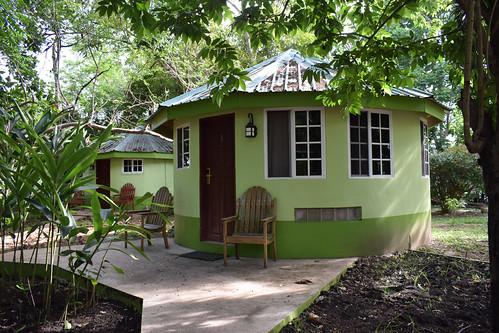 Arrived in Belize. Our cottage