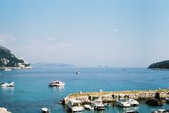 Dubrovnik_dock (alekspaunic) Tags: nature canon boats island dock infinity horizon croatia canona1 oldtown dubrovnik analogphotography adriaticsea naturelovers filmphotography shadesofblue