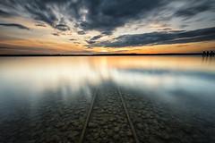 Railway to ? (Robert_Freytag) Tags: ammersee long exposure nd gnd nikon d810 haida