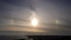 Sun Dog, Swyre Head 01 (Matt_Rayner) Tags: sundog 22 halo