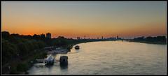 Blick auf Kln aus sdlicher Richtung (rapp_henry) Tags: city sunset river nikon sonnenuntergang cologne kln stadt fluss rhine rhein d800 nikon2470mm28