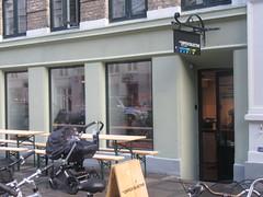 Coffee Collective, Nrrebro (cohodas208c) Tags: coffeeshop cappuccino coffeecollective jaegersborgade copenhagen openkitchen nrrebro