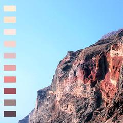 Paleta de Colores (CristinaSeijas) Tags: colores color colour colours montaa mountain cielo sky blue azul naturaleza nature rojo red marrn brown