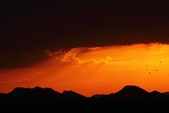 Sunset 6 29 16 005 (Az Skies Photography) Tags: sun set sunset dusk twilight nightfall cloud clouds sky skyline skyscape scottsdale arizona az scottsdaleaz arizonasky arizonaskyline arizonaskyscape arizonasunset red orange yellow gold golden salmon black june 29 2016 june292016 62916 6292016 canon eos rebel t2i canoneosrebelt2i eosrebelt2i