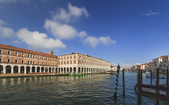 Venice (Albert Photo) Tags: grandcanal piazzasanmarco stmarkssquare gondola palazzoducale water europe traditional transportation propelled gondolier tourists river outdoor italy venice bridge waterfront watercourse architecture