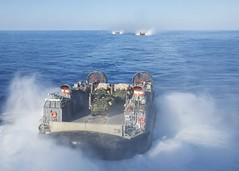 160722-N-TO519-147 (CNE CNA C6F) Tags: amphibiousreadygroup lcac lhd1 sailors training usnavy usswasp wasparg amphibiousassaultship landingcraft aircushion mediterraneansea