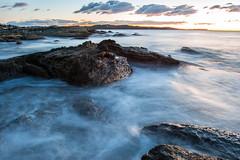 Milky (Mick Fletoridis) Tags: sunrise longexposure seascape rocks surf australia water sydney