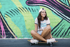 e_MG_0267 (Ben Garcia Photography) Tags: dtlv las vegas neon photography model white girl denim fashion style vintage canon 6d bokeh 50mm lowlight low light lighting street skater skate skateboard hipster