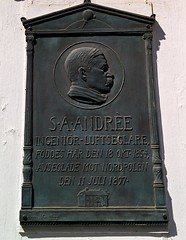 Salomon August Andre Swedish engineer adventurer politician (jonas_silver925) Tags: andres polarexpedition adventurer swedish nordpolen northpole svalbard history