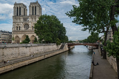 Notre Dame Paris (dronepicr) Tags: france sight church allgemein wanderlust holiday sehenswrdigkeit ferien kirche notre dame nikon paris travel urlaub seine sommerferien trip reisen euro lnderstdte geotagged frankreich notredame ledefrance fr