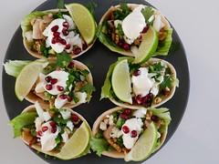 P1000459 (Tiki Chris) Tags: recipe tacos oldelpaso walnut pomegranate chickentacos walnutandpomegranatechickentacos