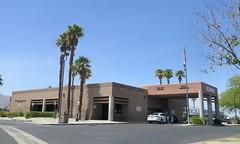 August 12, 2016 (1) (gaymay) Tags: california desert gay love palmsprings dmv building palmtrees cars