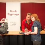 Chris Packham Book Signing