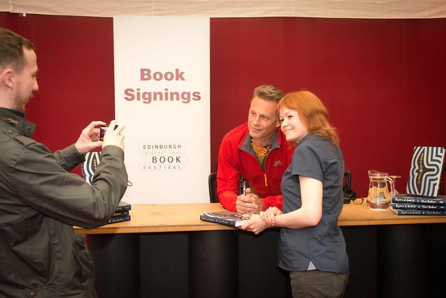 Chris Packham Book Signing