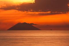 Stromboli, Iddu (Giorgio.G.) Tags: stromboli iddu tropea vulcano mare tramonto sicilia calabria natura nature sea italy vulcan sunset geology sun vulcanism explore inexplore