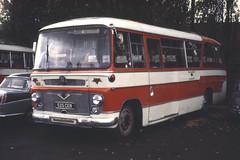 B5152D HD 929 525CER Southampton 15 Oct 69 (Dave58282) Tags: bus shamrockrambler 525cer hantsdorset 929