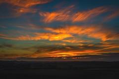 sunset nature's canvas (veik88) Tags: nikon nikond800 nikon2470mm28 sunset dusk landscape sky summer seasons colours nature