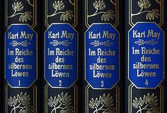 in a row (bestauf) Tags: books row macromondays