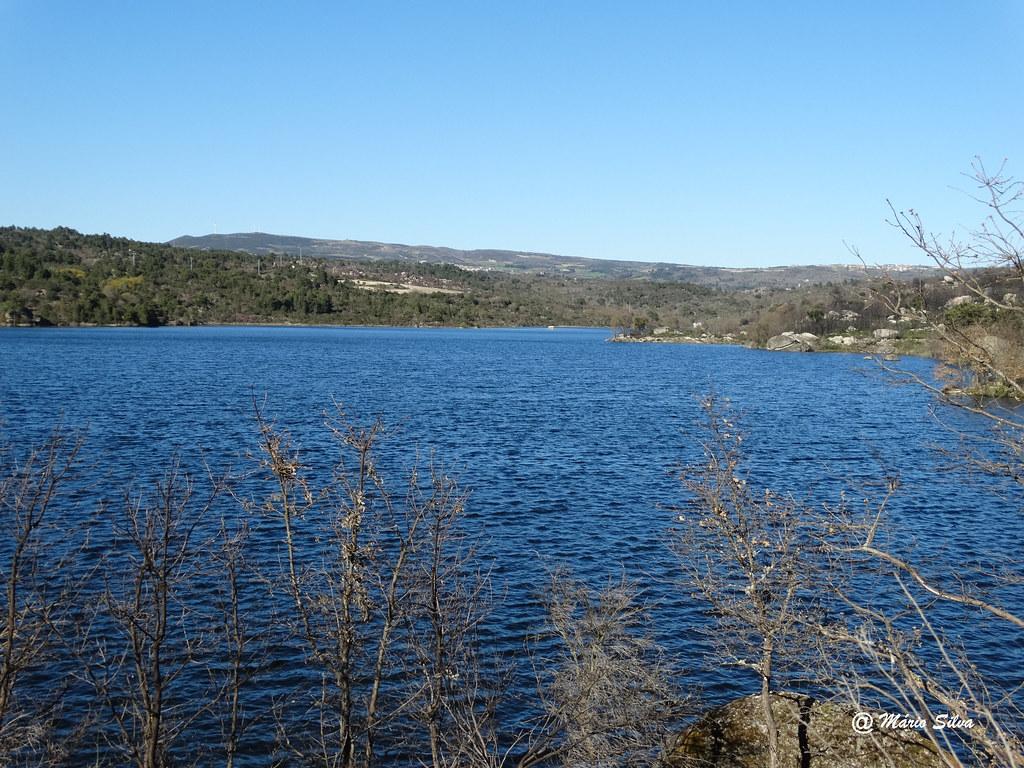 Águas Frias (Chaves) - ... barragem das Nogueirinhas (ou de Arcossó) ...