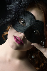Mascarada 39 (JM Bra) Tags: carnival portrait woman mujer retrato carnaval mascara venecia