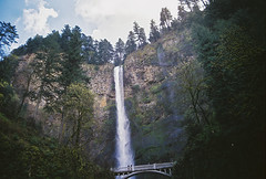 Multnomah Falls (drew.morris) Tags: film oregon drew