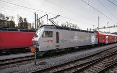 Celebrating 25 years (jaeschol) Tags: switzerland sony railway sbb locomotive zürich zuerich langnau zvv jubiläum 542 electriclocomotive szu a900 re456 re4565420