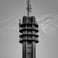 Zendmast Haren (ragingr2) Tags: building tower broadcast monochrome architecture concrete toren brabant hdr noordbrabant haren oss zendmast broadcasttower