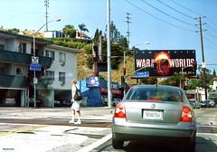 Pink Dot, Los Angeles (BudCat14/Ross) Tags: signs sunshine losangeles driveby hollywood streetscenes waroftheworlds