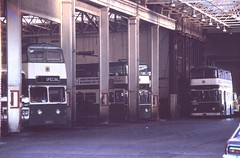 BS0369 68RTO , ETO180L NOTTINGHAM PARLIAMENT STREET GARAGE THUR 15.12.1977 (davruss001) Tags: nottingham 1977 eto180l 68rto