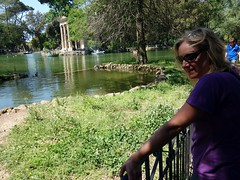 """Edita by a lakeside on Parco di Villa Borghese • <a style=""""font-size:0.8em;"""" href=""""http://www.flickr.com/photos/41849531@N04/17587153692/"""" target=""""_blank"""">View on Flickr</a>"""