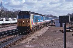 Indomitable (Bingley Hall) Tags: uk railroad england london train diesel britain transport engine rail railway transportation hoover locomotive passenger nse ealingbroadway englishelectric class50 networksoutheast 50026