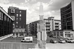 (Radioprivas) Tags: sardegna blackandwhite skyline architecture canon monocromo sardinian architettura cagliari biancoenero citt teatrolirico